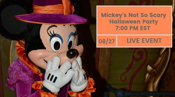 2nd Annual Mickey's Not So Scary Halloween Party LIVE Webinar