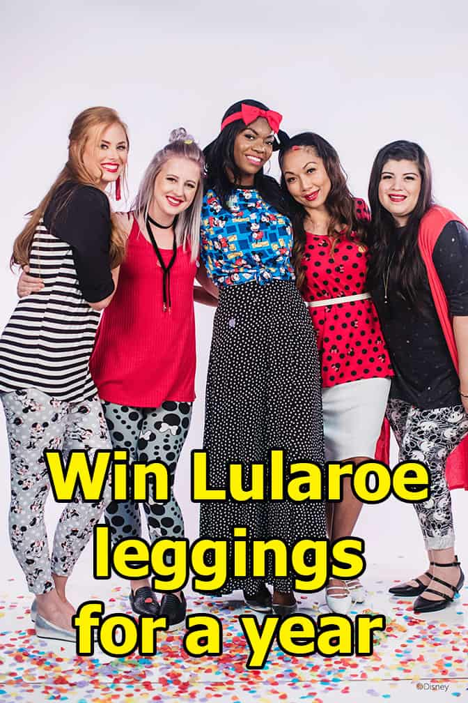 Win Lularoe leggings for a year!