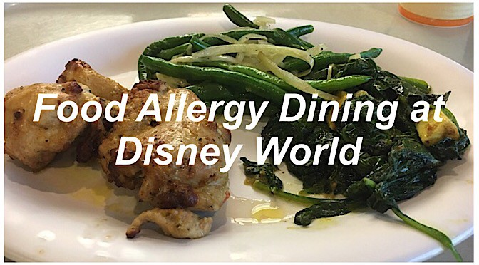 Food Allergy Dining at Disney World
