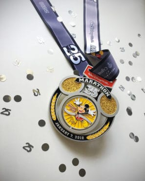 2018 Walt Disney World Marathon Weekend Race Medals