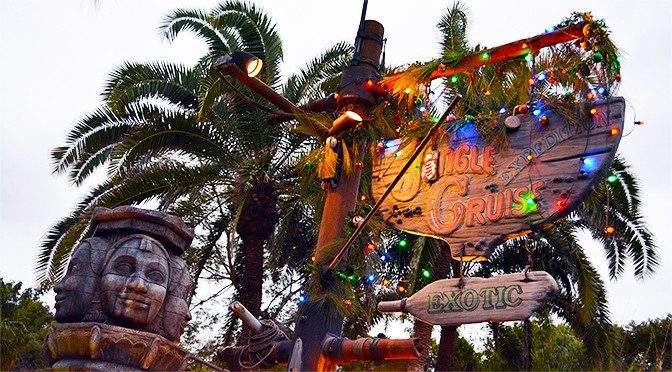 Jingle Cruise returns to Disney World's Magic Kingdom for 2017