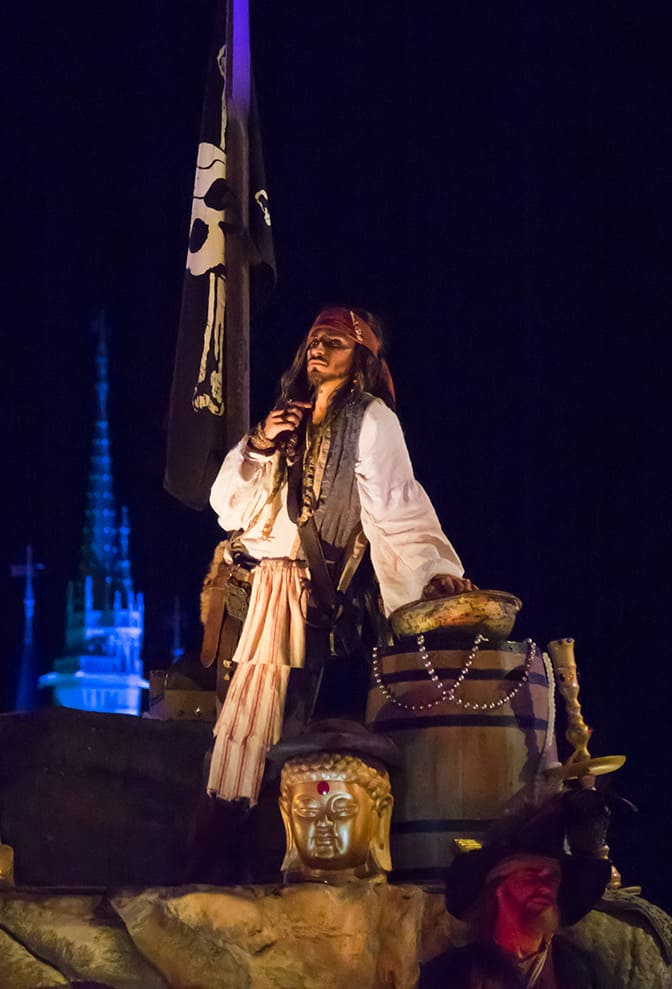 Captain Jack in Mickey's Not So Scary Halloween Party