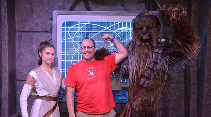 Great Star Wars Characters offer meet and greets for a limited time!