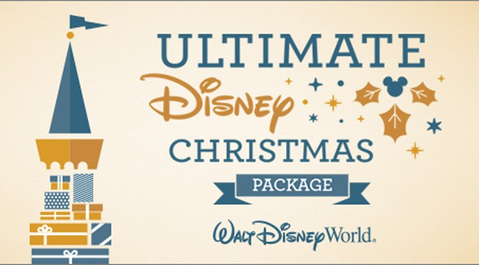 Ultimate Disney Christmas Package at Walt Disney World