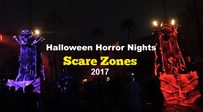 Universal Orlando Halloween Horror Nights Scare Zones