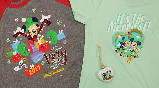 Mickey's Very Merry Christmas Party Merchandise 2017