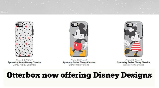 Otterbox now offering Disney Designs