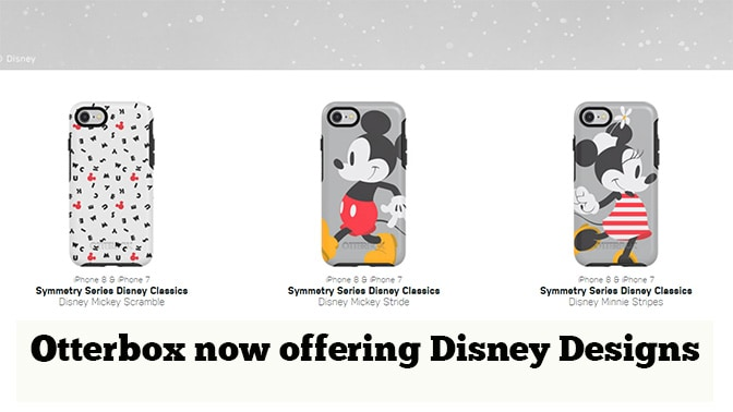 Otterbox now offering Disney Designs