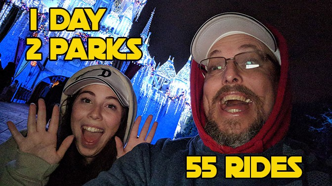 How a Father and Daughter rode every ride in Disneyland Resort in a single day.