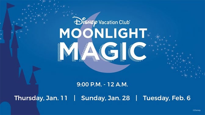 Magic Kingdom DVC Moonlight Madness 2018