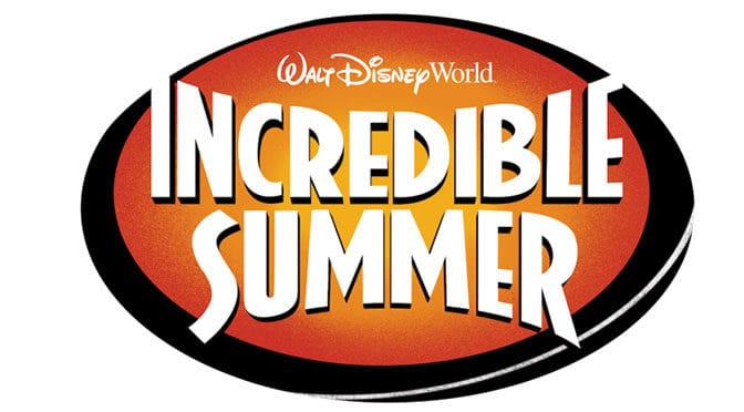 "Walt Disney World presents ""Incredible Summer"" for Summer 2018"