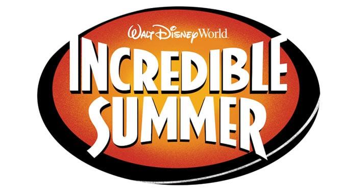 Walt Disney World presents Incredible Summer for Summer 2018