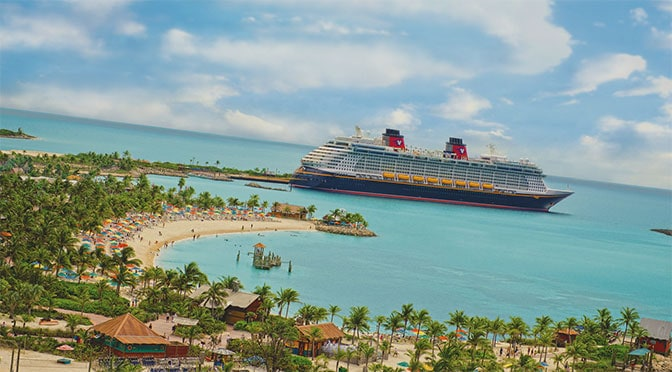 Disney Cruise Line Announces Fall 2019 Itineraries