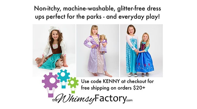 Win towards a comfortable $50 Children's Costume with the Whimsy