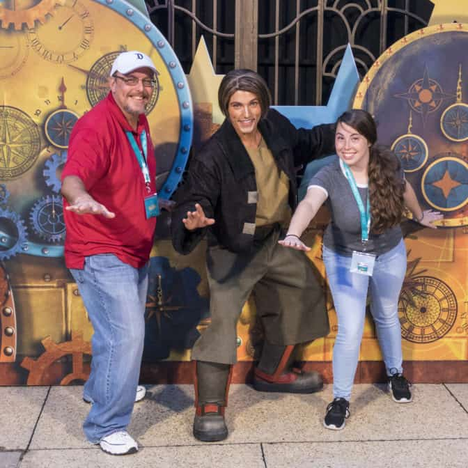 Jim Hawkins from Treasure Planet at Fandaze in Disneyland Paris 2018 (2)