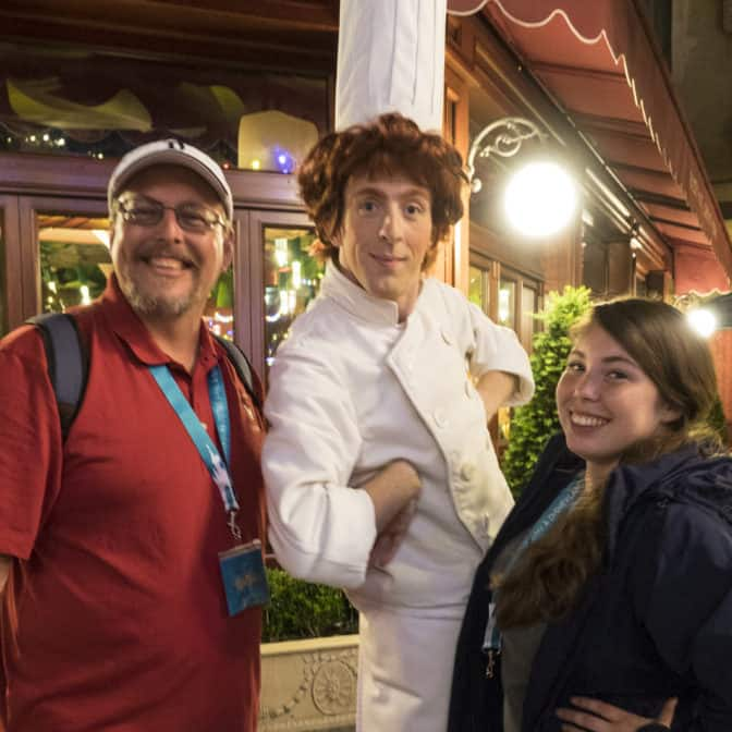 Linguine from Ratatouille at Fandaze in Disneyland Paris 2018 (2)