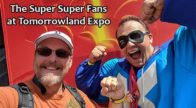 Meet the Super Super Fans of the Tomorrowland Expo in the Magic Kingdom