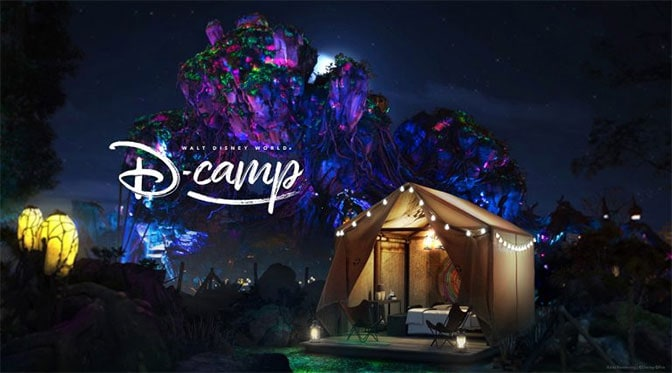 Win a chance to camp overnight inside Pandora at Disney's Animal Kingdom