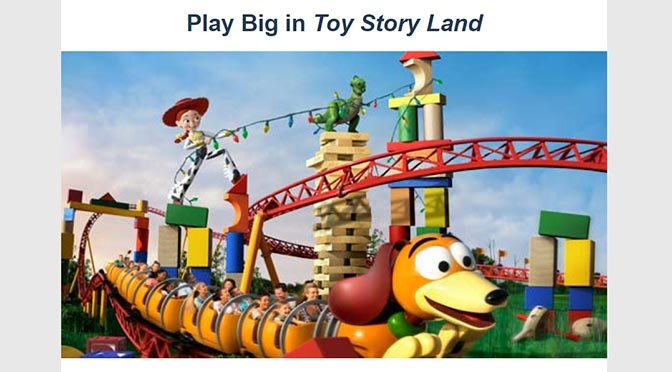 Passholder Play Time registration now available for Toy Story Land!
