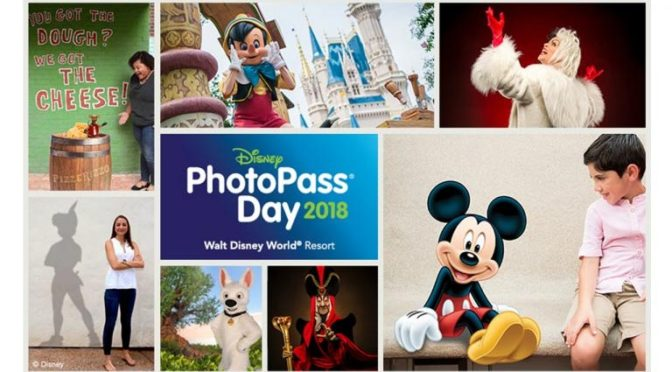 Full lineup for Disney PhotoPass Day 2018 revealed!