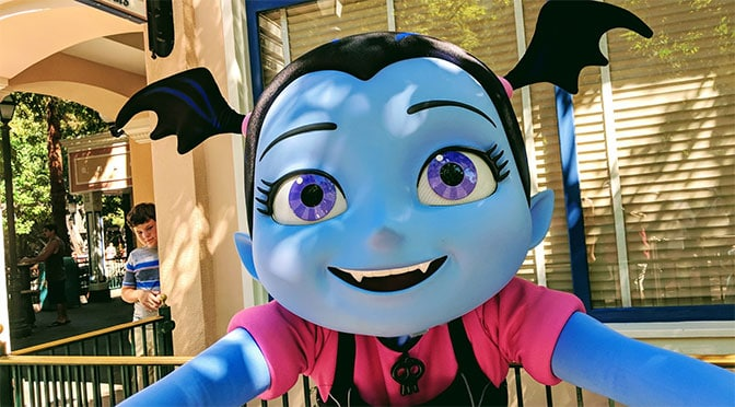 Vampirina now meeting guests at Disney's Hollywood Studios in Walt Disney World