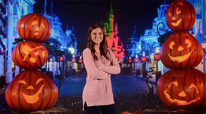 Fall backdrops now being offered at the Disney Springs Photopass Studio
