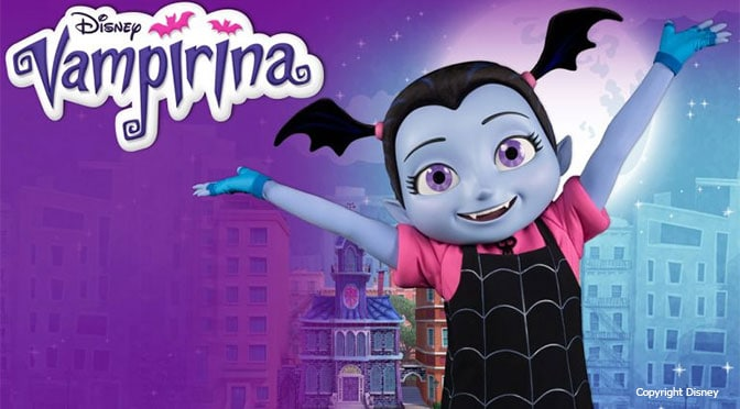Date set for Vampirina's meet and greet to open in Hollywood Studios