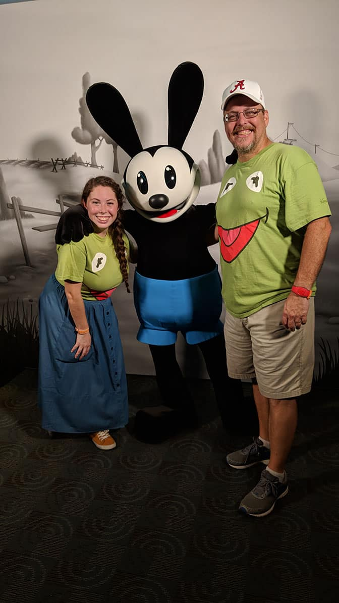DVC Moonlight Madness at Hollywood Studios Oswald