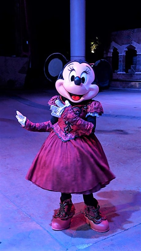 DVC Moonlight Madness at Hollywood Studios Minnie Mouse