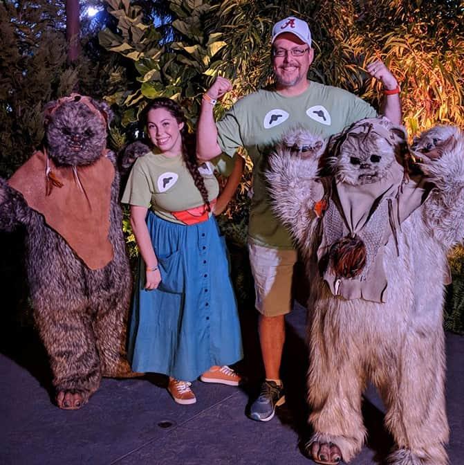 DVC Moonlight Madness at Hollywood Studios Ewoks