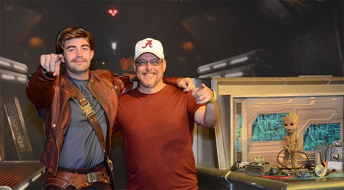 Star-lord and Baby Groot removed to prepare for a new set of characters