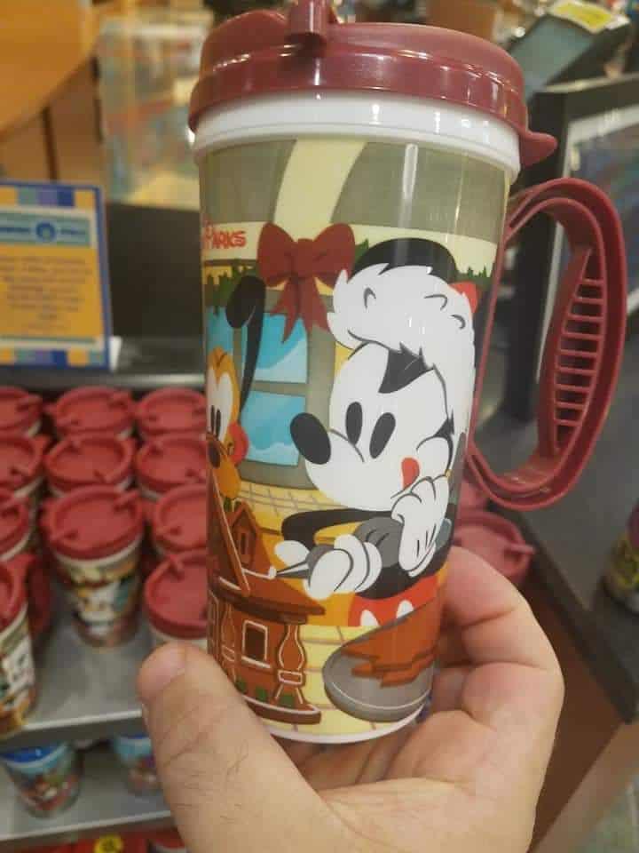 Pop Century Christmas Refillable Mug