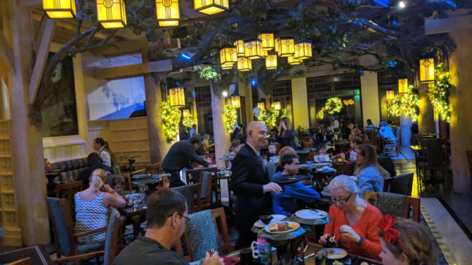 Storybook Dining at Artist Pointe in the Wilderness Lodge