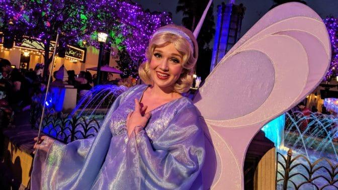 Oogie Boogie Bash Blue Fairy