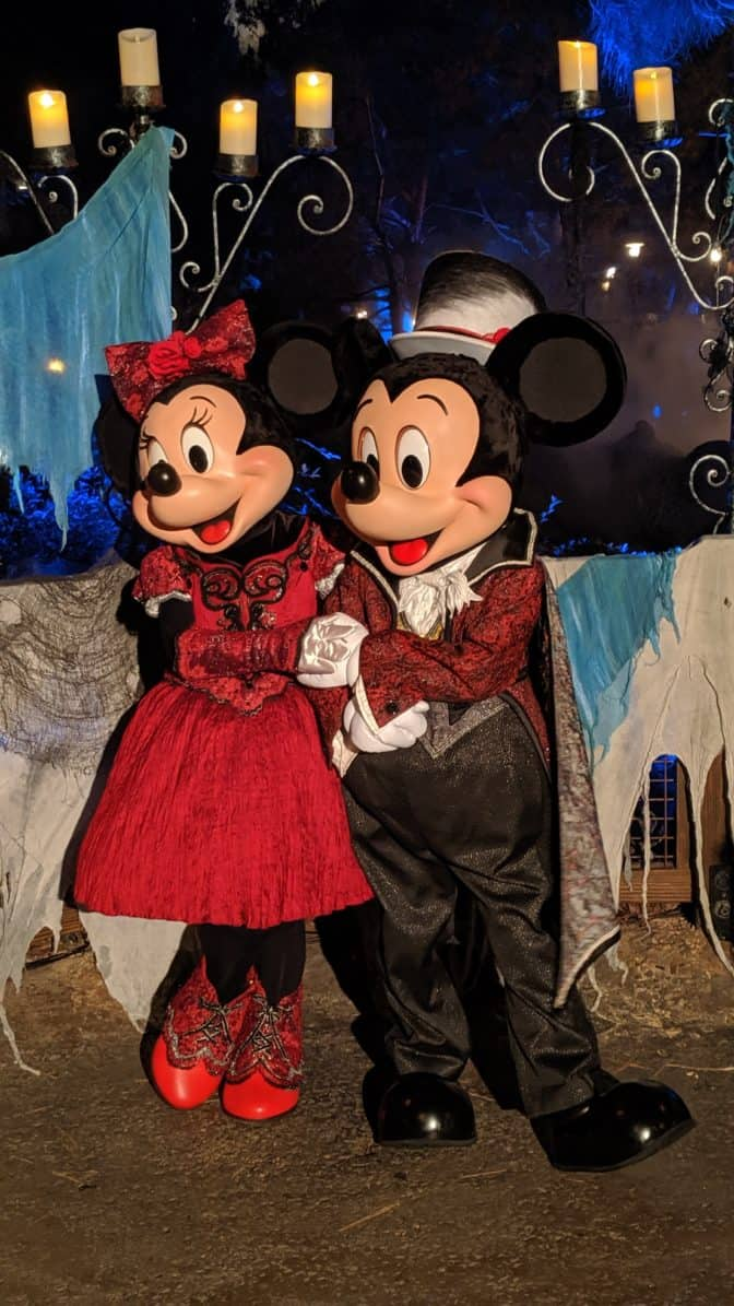 Oogie Boogie Bash Mickey and Minnie