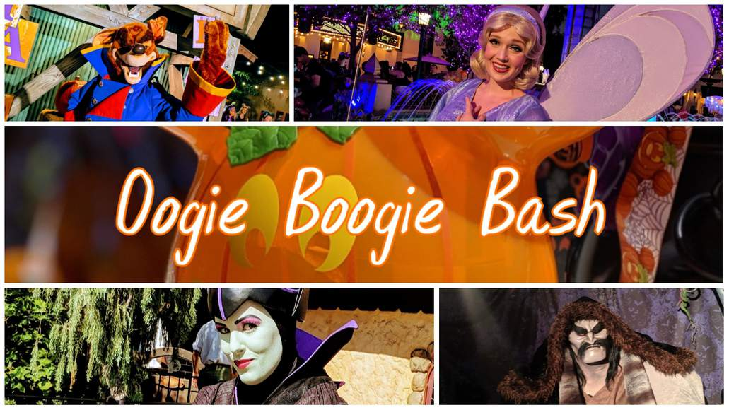 Oogie Boogie Bash a little darker Disney Halloween Party