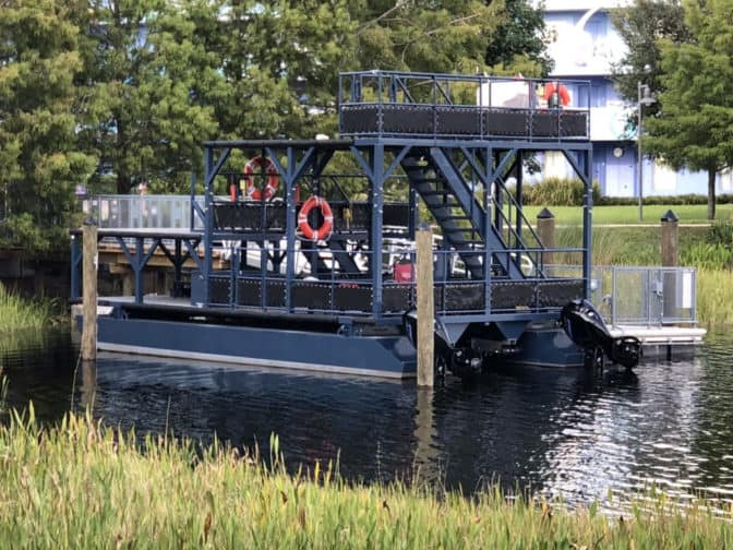 Walt Disney World Gondola Evacuation Boat