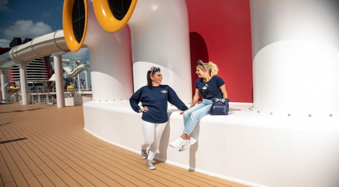 Disney Cruise Line Debuts New Nautical Navy Collection
