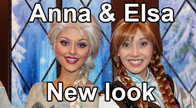 New look for Anna and Elsa from Frozen 2 revealed