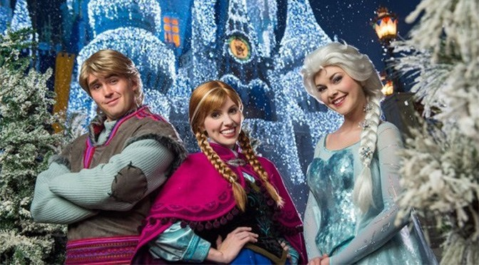 A Frozen Holiday Wish Castle Lighting Returns For 2019