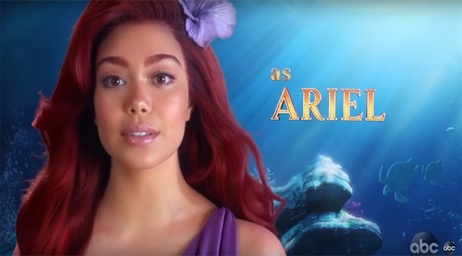 """""""The Little Mermaid Live"""" Cast and Promo Video"""