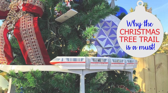 """Why Disney Springs """"Christmas Tree Trail"""" is a Must!"""