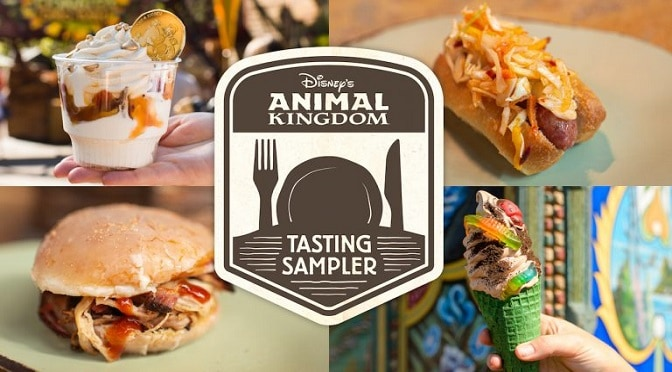 My Experience of Tasting My Way Around Animal Kingdom with the Tasting Sampler and its Return in Winter 2019