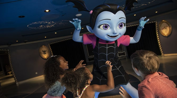 Fancy Nancy and Vampirina Set Sail with Disney Cruise Line!