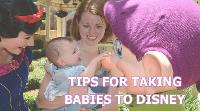 Tips for Taking Babies to Disney