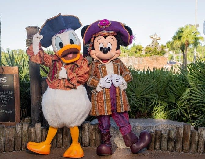 mickey and donald
