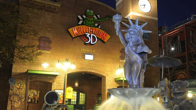 Muppet*Vision 3D Closing for Refurbishment