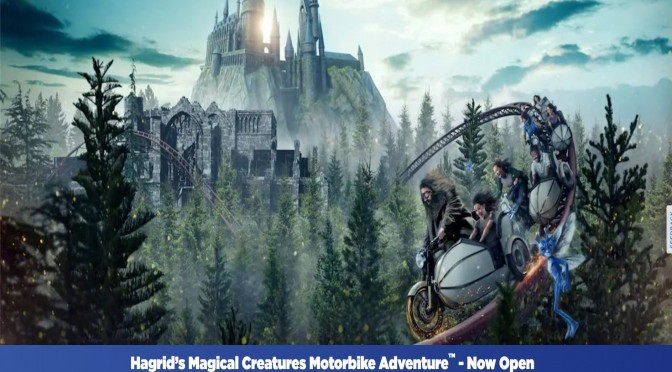 Universal's Hagrid's Magical Motorbike Adventure closed for a very unusual reason