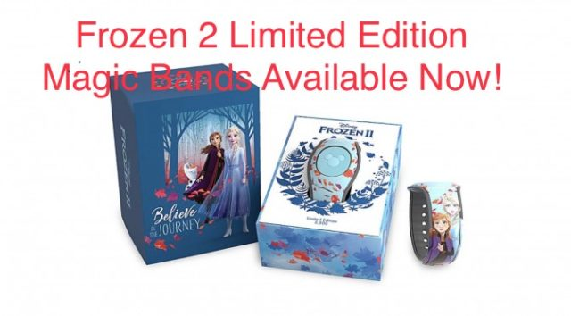 Frozen 2 Limited Edition Magic Bands Available Now!