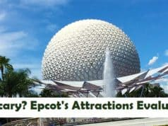 Is it Scary? How do each of Epcot's Rides Rate on the Fear Factor Scale?